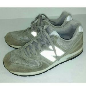 New Balance 594 Running Sneakers Shoes Gray Laces